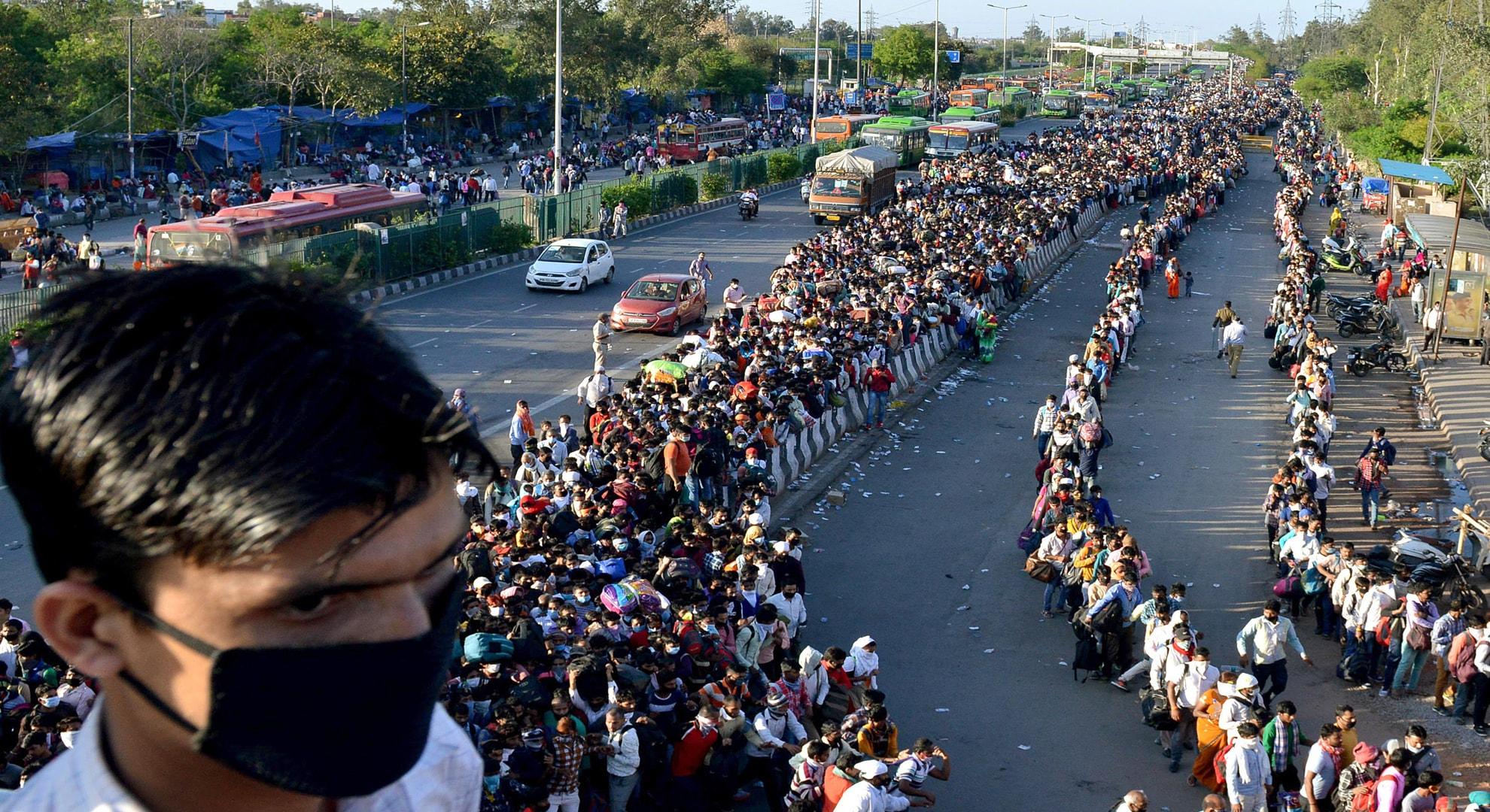 delhi migrants
