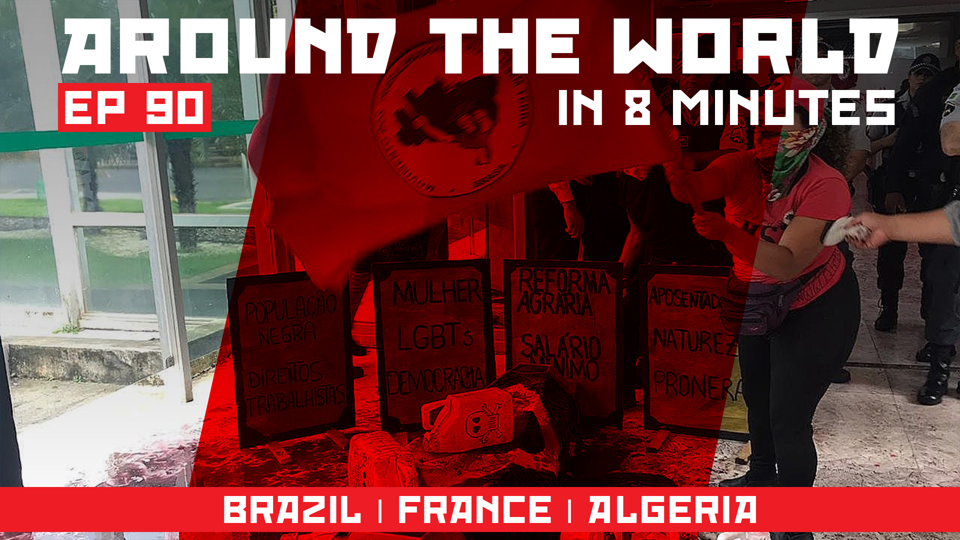 Around the world ep 90_BRAZIL _ FRANCE _ ALGERIA_
