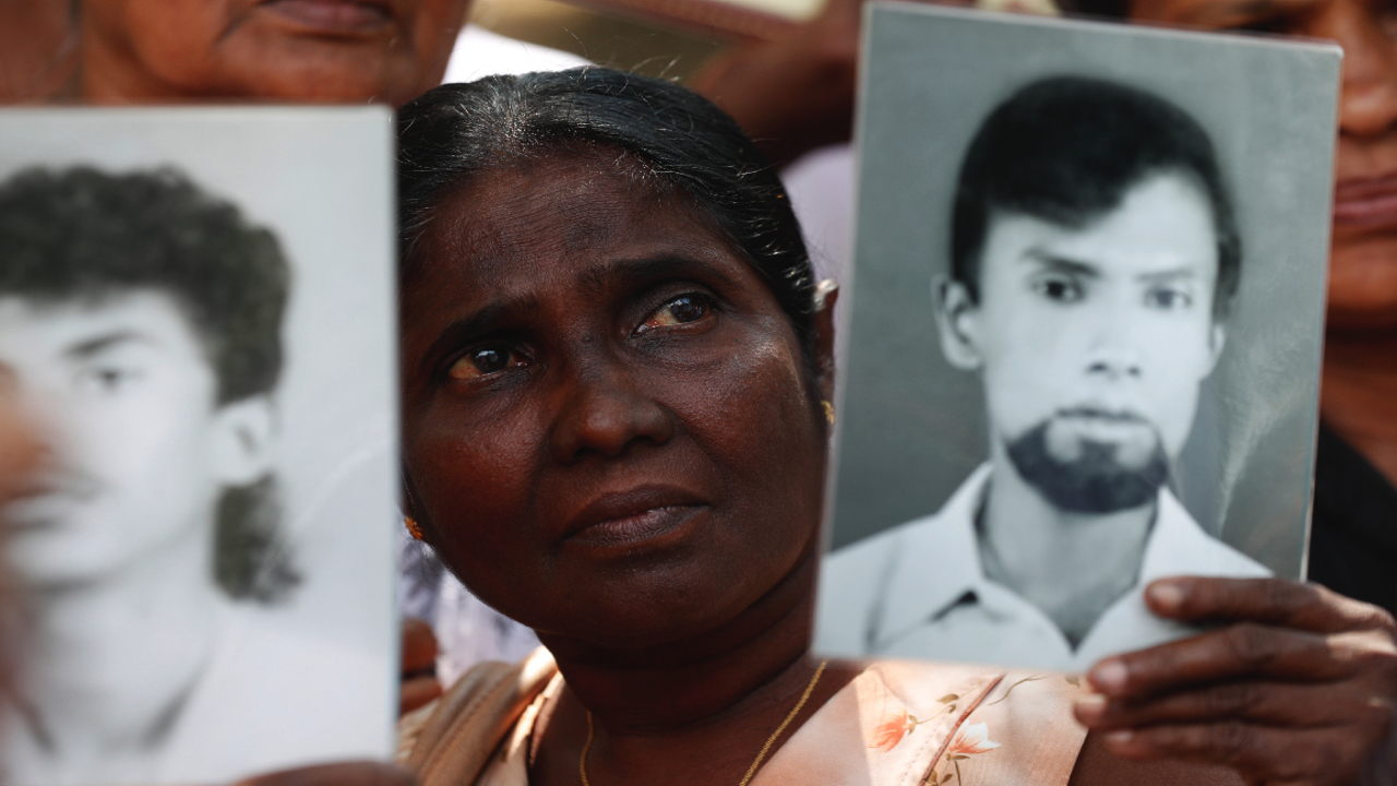 Sri Lanka Tamil missing persons