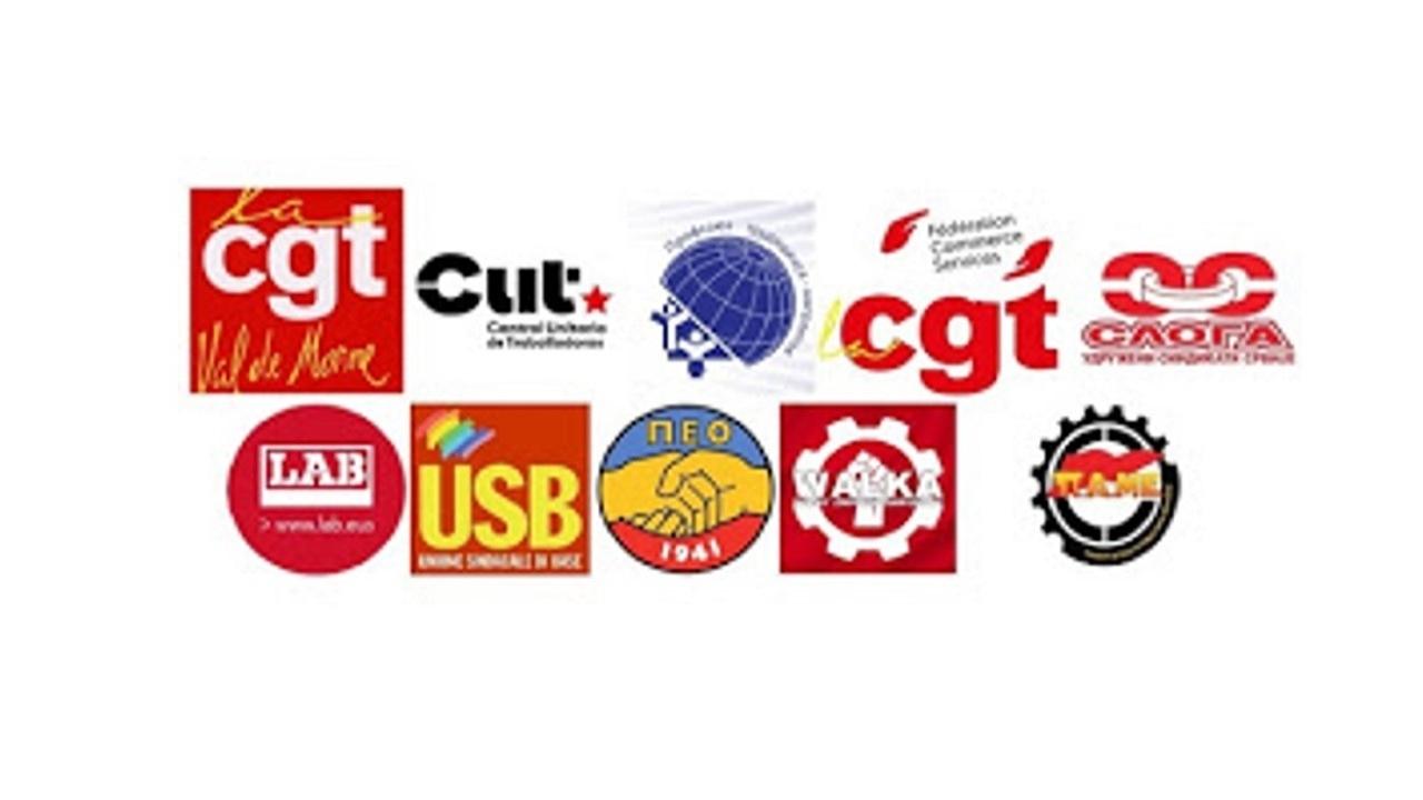 Europe trade unions corona