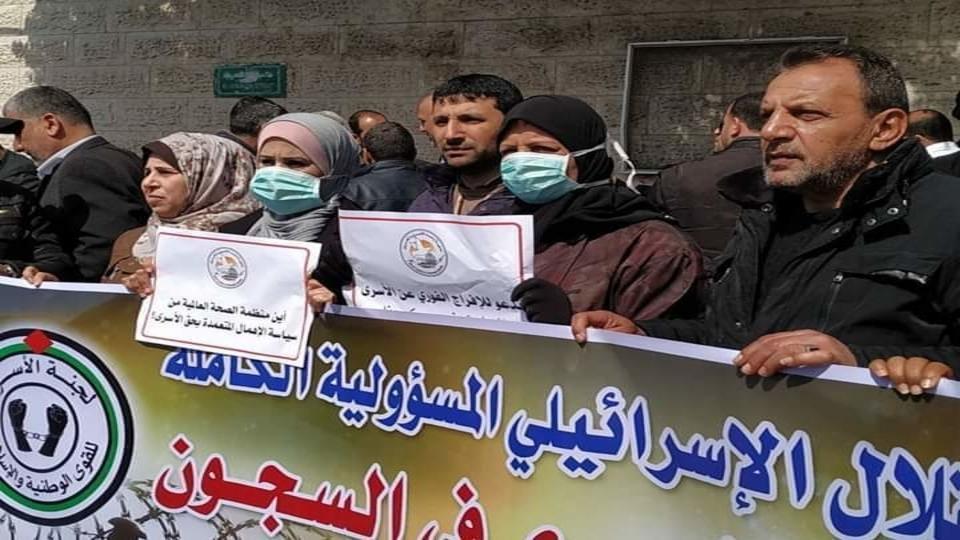 Palestinian prisoners covid