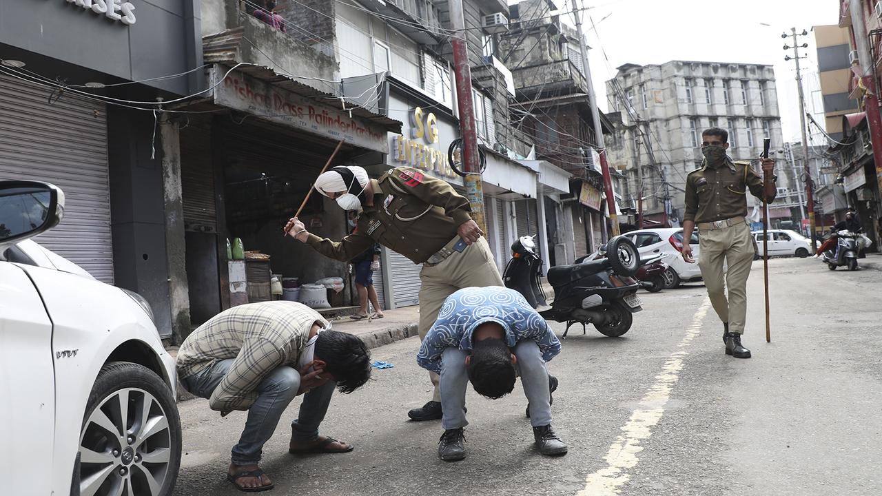 Kashmir COVID crisis