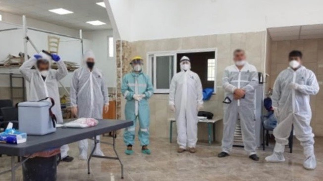 Israel raids Palestinian clinic COVID