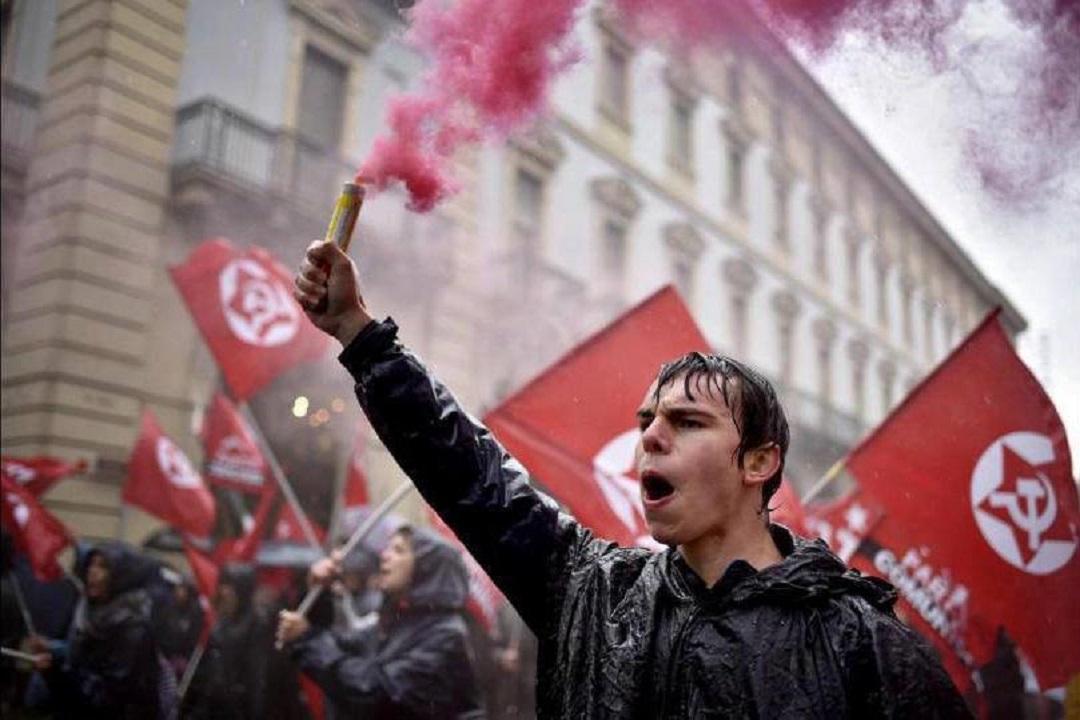 Italian communist Youth COVID