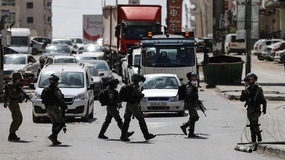 Israeli raids Palestine