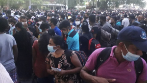 Sri Lanka COVID migrant workers