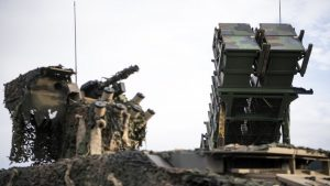 US Patriot missiles in Iraq