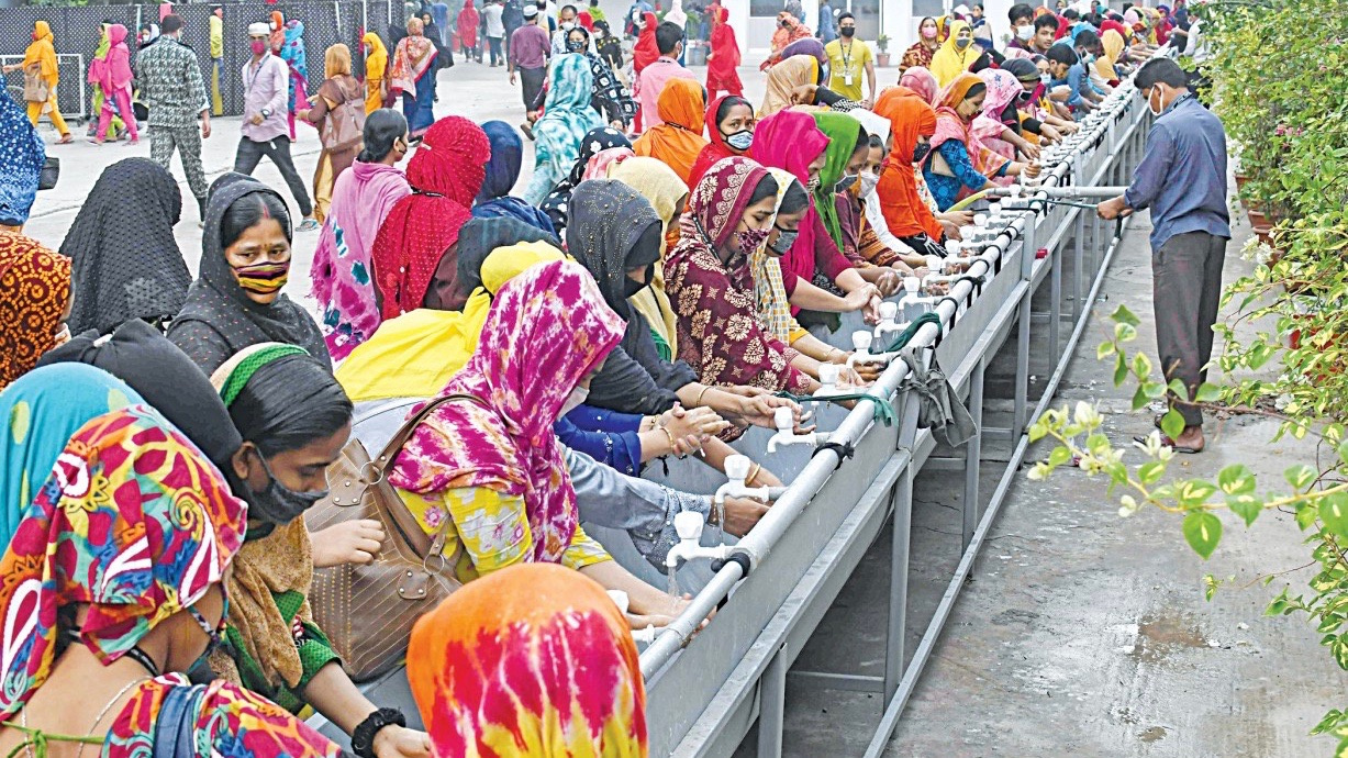 Bangladesh garment workers COVID
