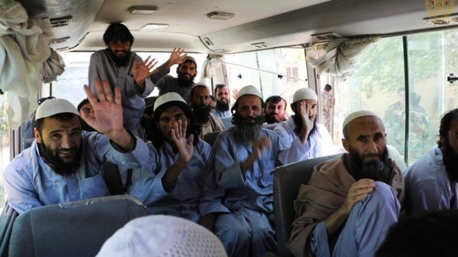 Taliban prisoners released