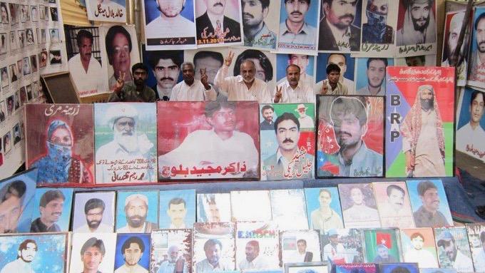 Baloch activists deaths