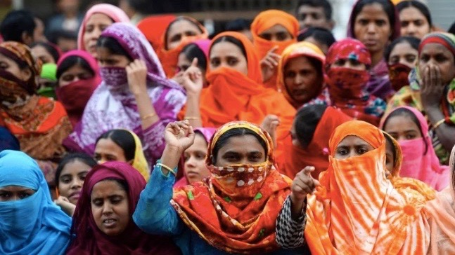 Garment workers strike Bangladesh
