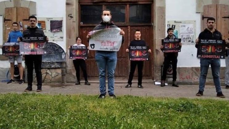 Basque political prisoners Spain