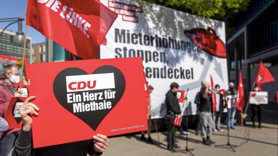 Die Linke housing rights Germany