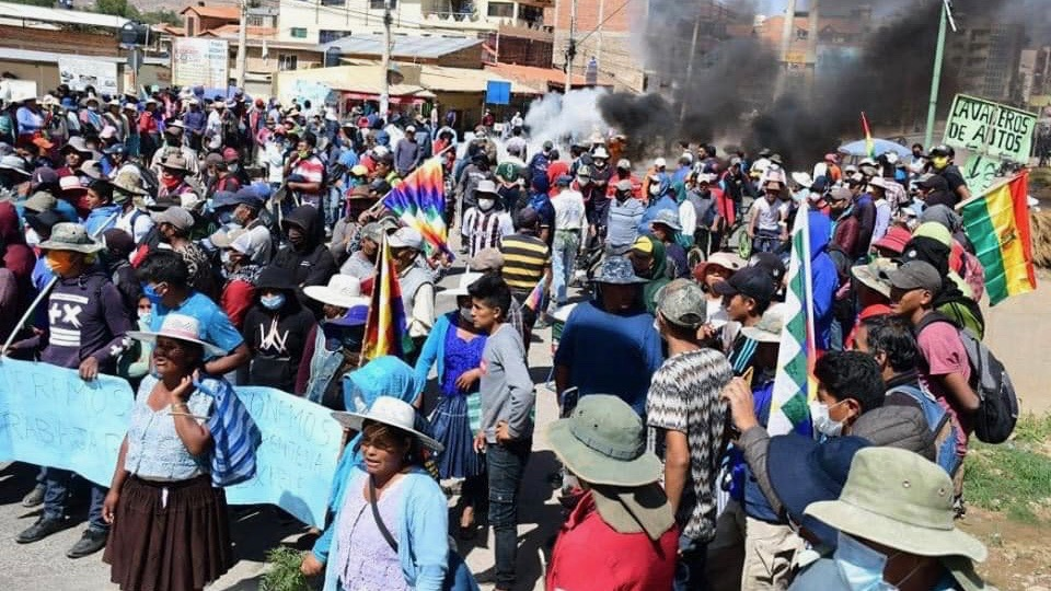 Bolivian coup regime deploys military to suppress anti-government protests : Peoples Dispatch