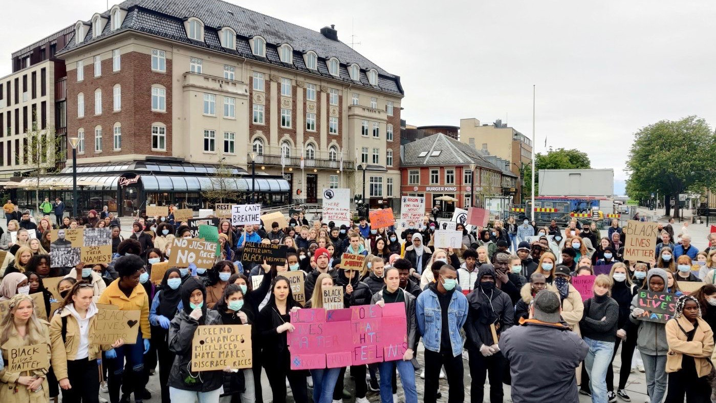 Norway protests George Floyd