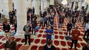 Israeli settlers storm Al-Aqsa on reopening
