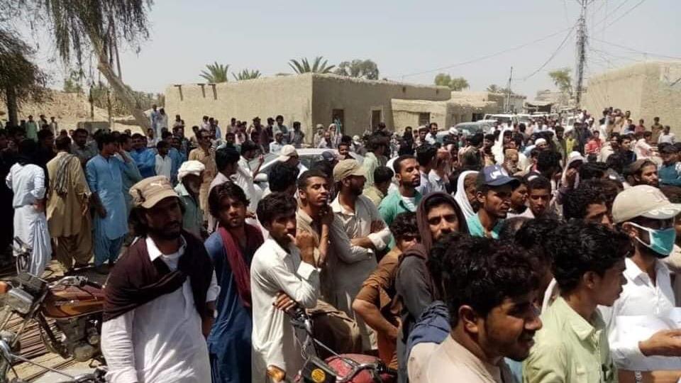 Protest against civilian death in Balochistan