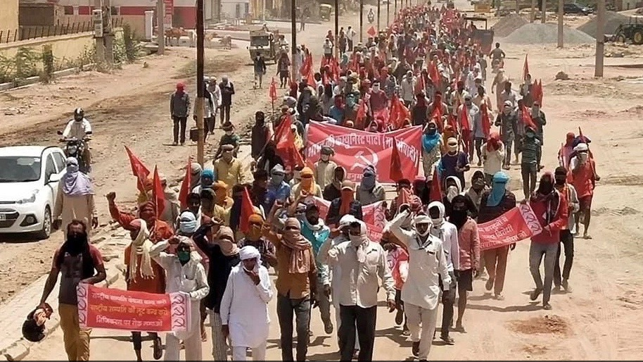All India protest by CPI-M