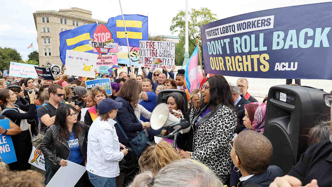 US Supreme court ruling for LGBT+ workers rights