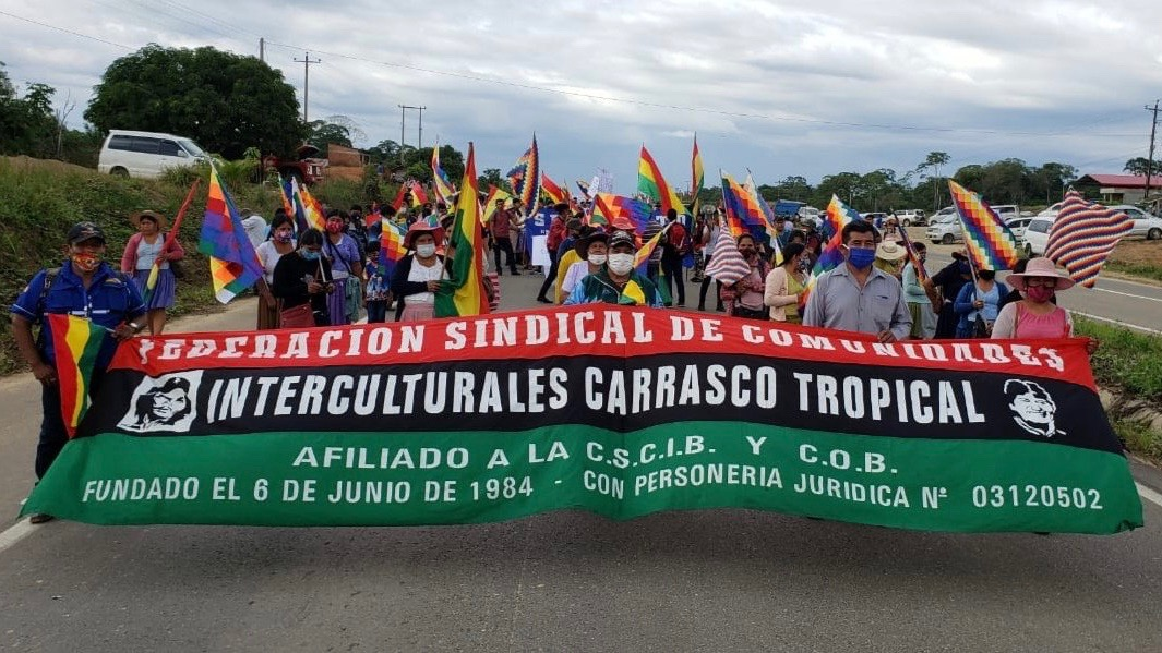 Bolivians Reject Postponement Of Elections With Massive Mobilizations Peoples Dispatch