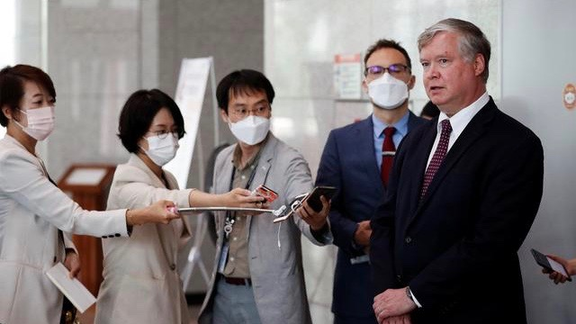 US envoy visit to South Korea