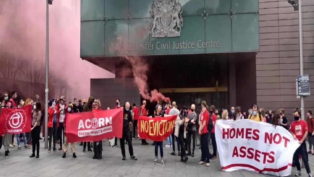 Ban on evictions-UK