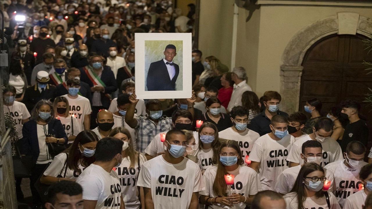 Willy Monteiro killing - Italy