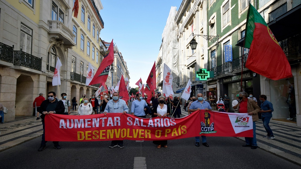 Workers Protest-Portugal