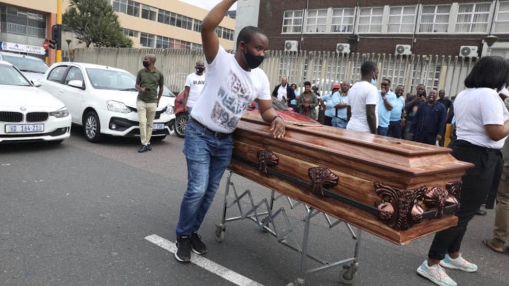 South Africa Undertakers' strike