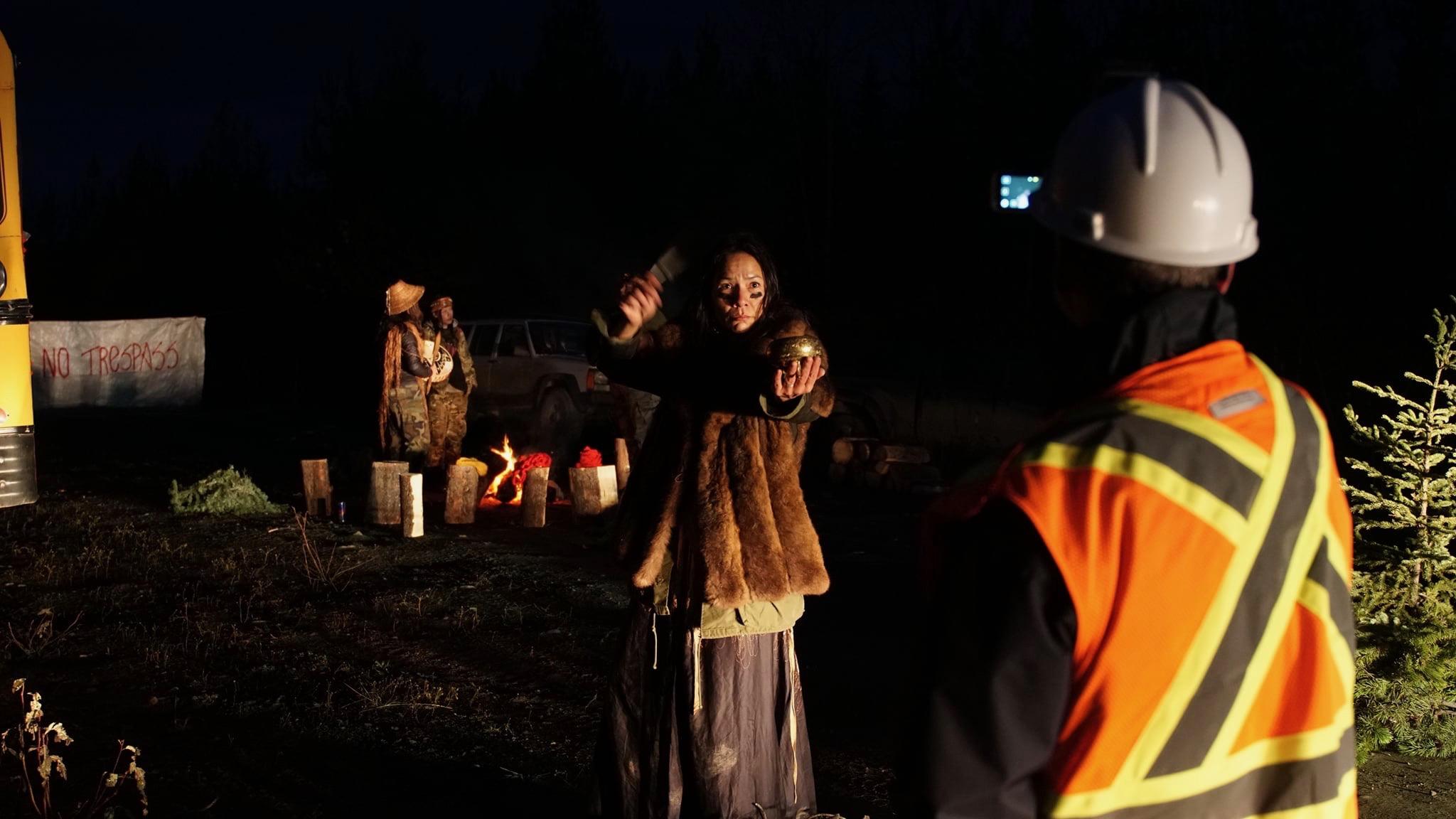 Canada pipeline protest