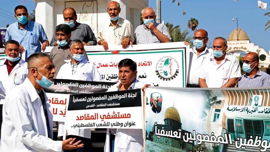 Palestinian nurses dismissed.