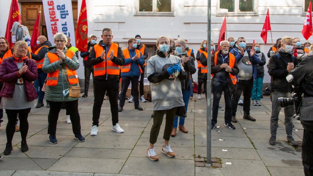 Workers Protest-Denmark