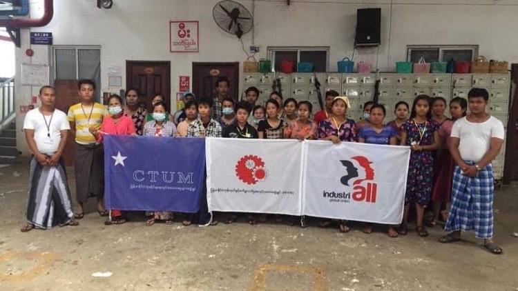 Myanmar unions ACT