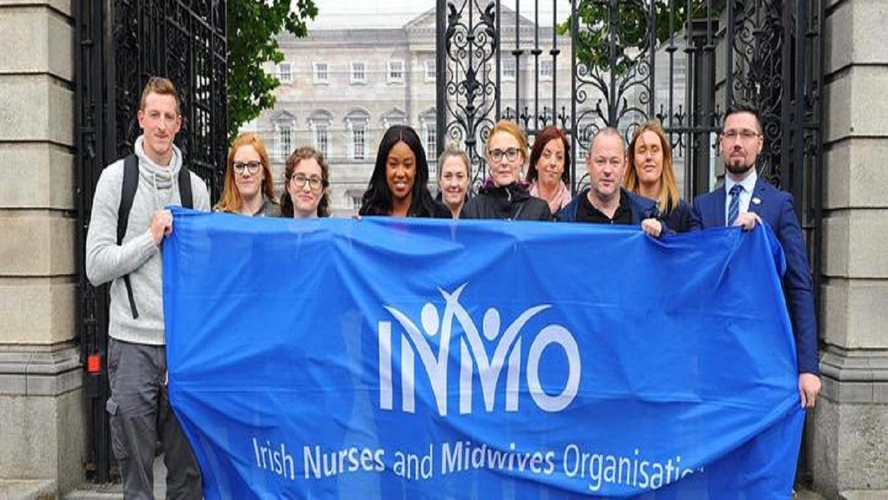 Irish Nurses Campaign