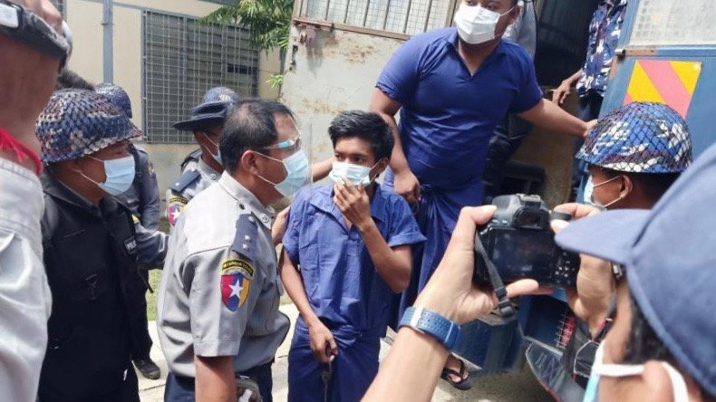 Myanmar student arrests