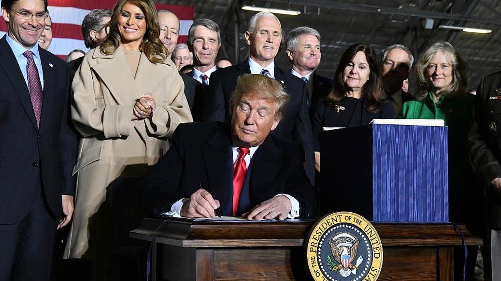US defense bill