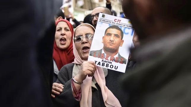 Hirak activist trial Algeria