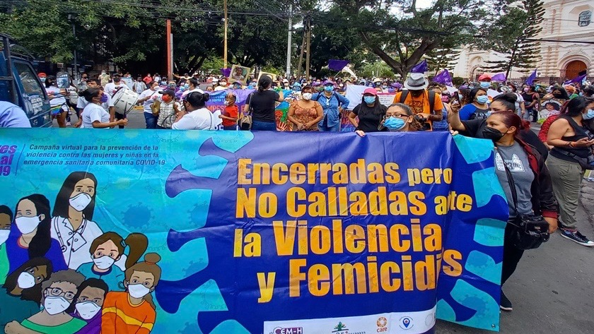 Honduras Women's Day - abortion rights