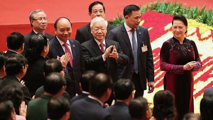 Vietnam Trong re-elected