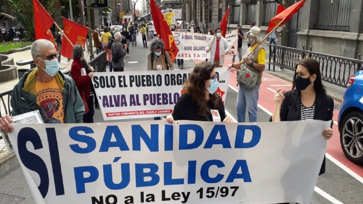 Protest for health-Spain