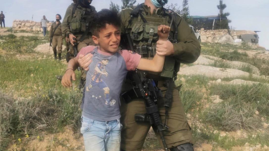 Israel detains Palestinian children