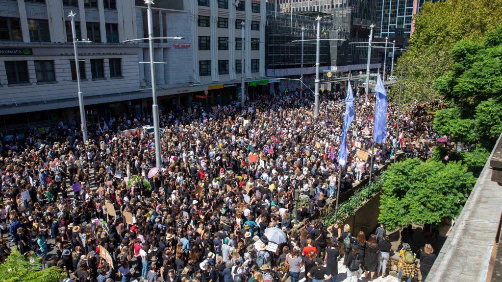 Women's march Australia