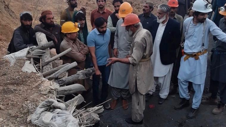 Coal miners death Balochistan