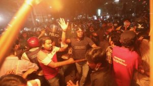 Bangladesh writers death protests