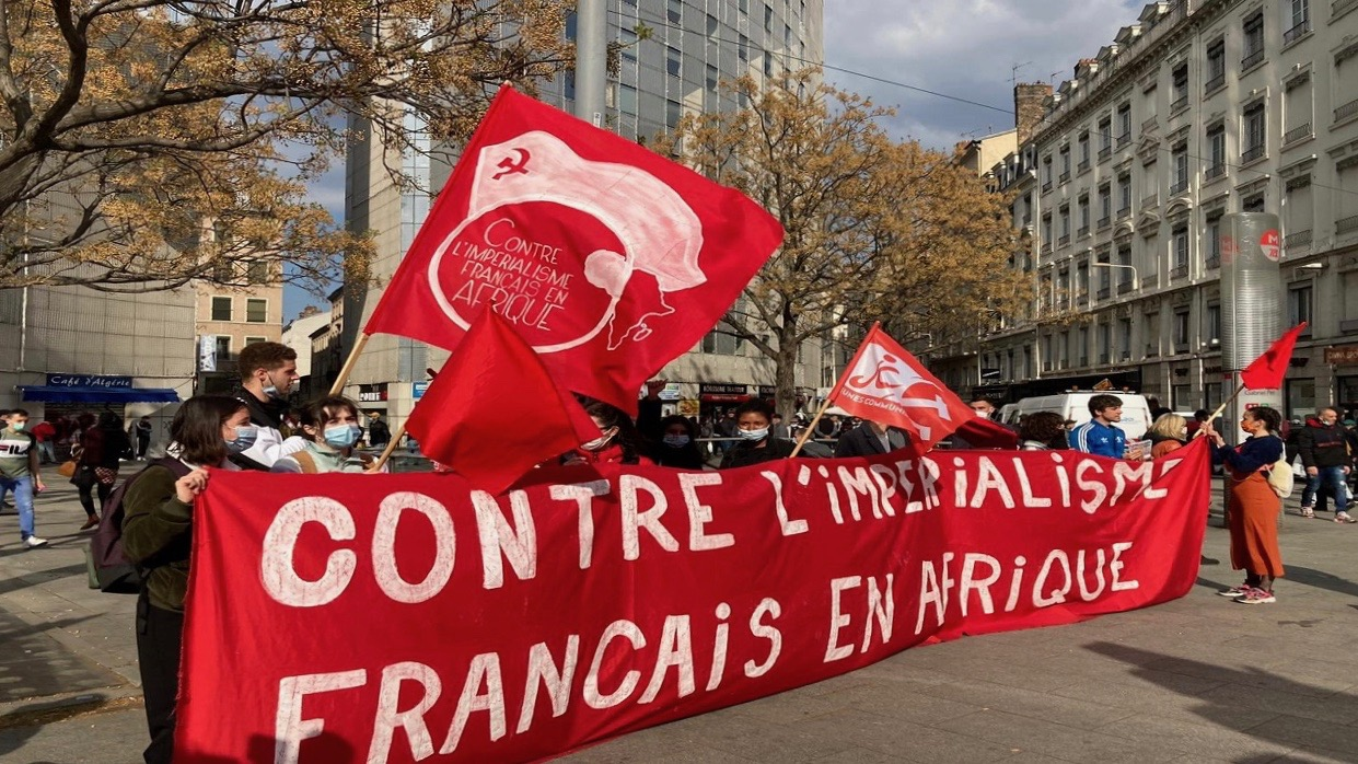 Anti-imperialist protests-France