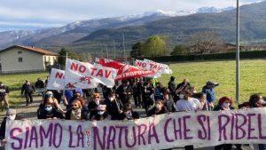 NO TAV protest-Italy