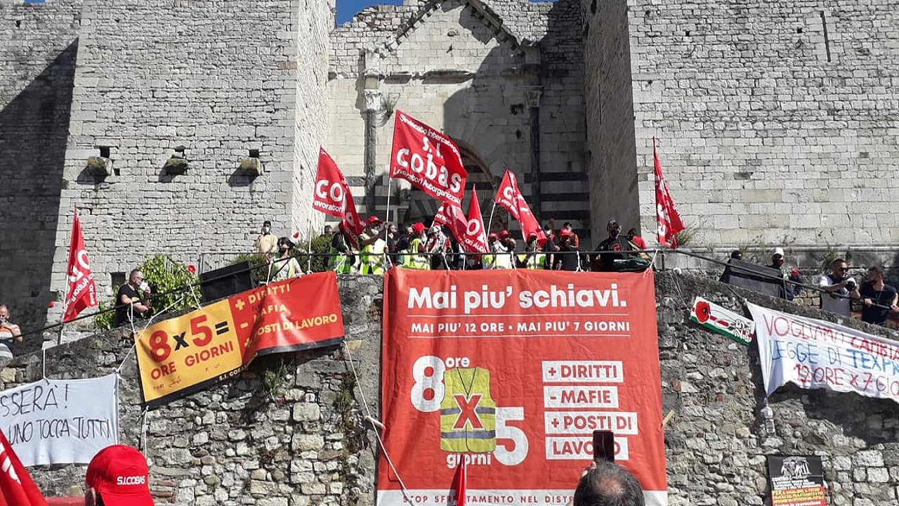 Workers Protest-Italy