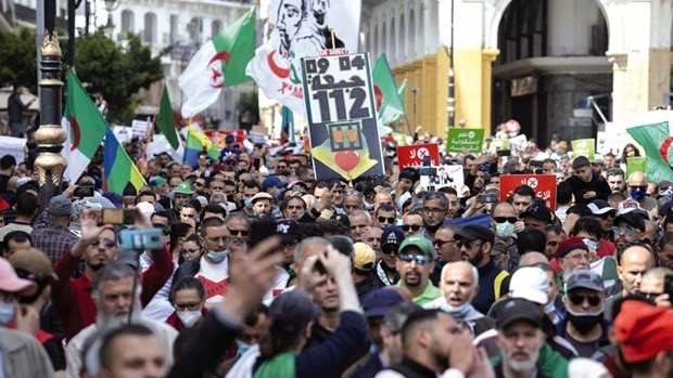 Algeria Hirak protesters Hunger strike