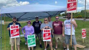 US Volvo workers strike