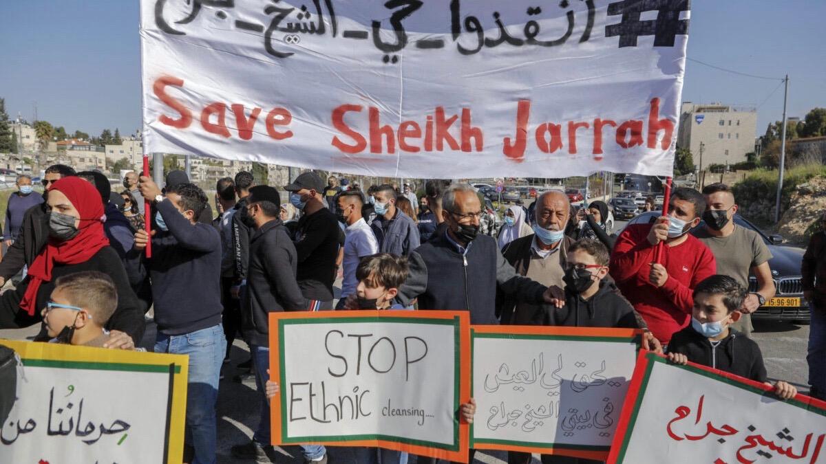 Palestinians evicted, East Jerusalem